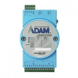 Module ADAM Entrée/Sortie sur bus de terrain, 15-ch Isolated DI/O EtherNet/Ip