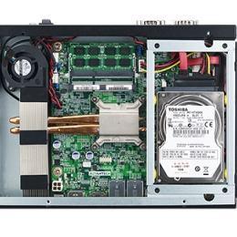 Châssis industriel ultra fin pour carte mère Mini ITX, AIMB-B1000 w/ AIMB-230(Celeron 2980U),barebone