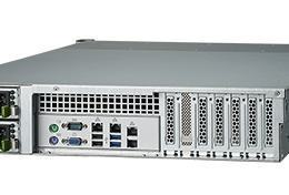 Serveur industriel de stockage, 2U 12-bay Storage Server, support Intel Xeon E3