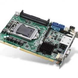 Carte mère industrielle demi-longueur bus PCI/PCIE, PICMG 1.3 H/S SHB, C236, 2GbE, 2 display