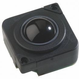 Trackball en bakélite 25mm de diamètre couleur noire Etanchéité: IP65