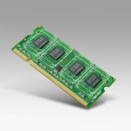 Module barrette mémoire industrielle, SQRAM 1G SO-DDR2-667 128x8 I-GRD SAM-F