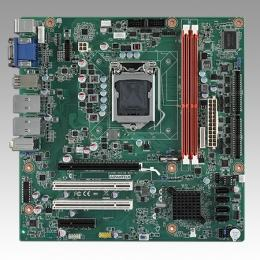 Carte mère industrielle, MicroATX with 3VGA/10COM/10USB/2LAN/VAG always