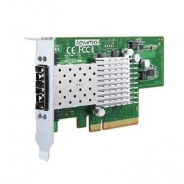 Carte ethernet fibre optique, PCIE 2 ports SFP+ 82599ES