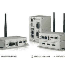 PC industriel fanless à processeur E3815 1.46GHz, 4G RAM, 32G, 2xEthernet, 2xCOM, HDMI