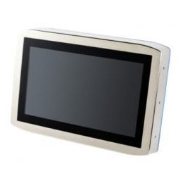 "IP66/69K Protected 15.6"" Stainless Steel Wide Screen Industrial Monitor with P-Cap Touchscreen"
