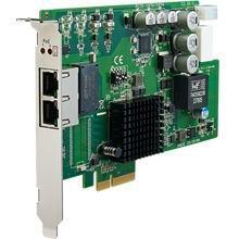 Carte PCIex4 pour acquisition vidéo avec 2 ports POE à alimentation controlée