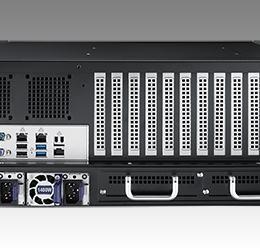 Châssis serveur industriel 4U pour carte mère ATX/EATX