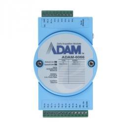 Module ADAM Entrée/Sortie sur Ethernet Modbus TCP, MQTT et SNMP, 6 sorties Relais /6 entrées numériques