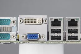 Carte mère industrielle, ATOM D525 1.8G MINI ITX w/VGA,LVDS,2GbE,6COM