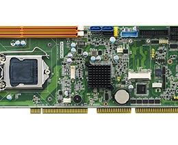 Carte mère industrielle PICMG 1.0 ISA/PCI, VGA/DVI/ Single GbE LAN/HISA, RoHS