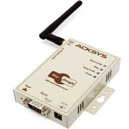Passerelle monovoie série RS232 <-> WiFi 802.11 a/b/g/h, format compact