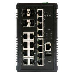 Switch PoE+ Gigabit 16 ports + 4 SFP