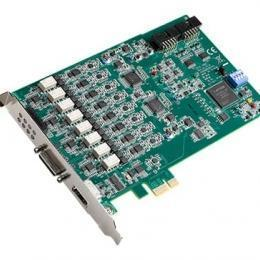 8-ch, 24-bit, 128 kS/s Dynamic Signal Acquisition PCI Express Card