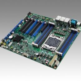 Carte mère industrielle pour serveur, LGA2011-R3 ATX SMB w/8 SATA/5 PCIe x8/2 GbE/I