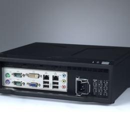 Châssis compact pour carte mère Mini ITX alimentation 180W 272 x 88 x 232 mm