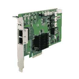Carte ethernet Gigabit, 2-port PCI express GbE card