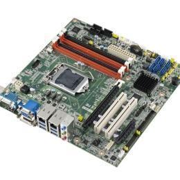 Carte mère industrielle, LGA1150 mATX VGA DVI DP SATA 3 C226