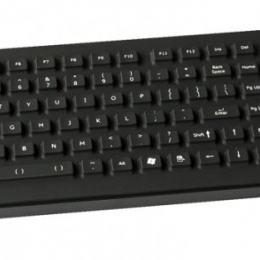 Clavier industriel compact 105 touches rétro-éclairé avec clavier numérique et souris à poser sur table IP65 AZERTY