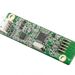 Carte d'interface tactile résistif 4 fils USB/RS232 (-25~85°C)