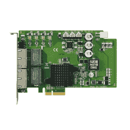 Carte ethernet Gigabit, 4-port PCI express GbE card
