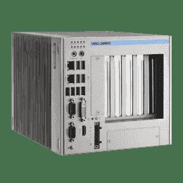 PC industriel fanless à processeur i7-3555LE, 4G RAM, avec 2xPCIex8 et 3xPCI slots