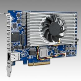 Carte industrielle d'acquisition vidéo, 4 TI C6678 1.25G with PCIe Gen2 x8 and 2GB DDR3