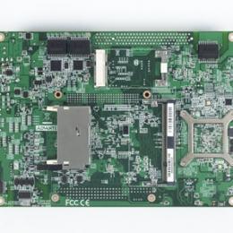 Carte mère industrielle biscuit 5,25 pouces, Intel D510+ICH8M 3GigaLAN/6COM/3SATA/CFII/M-PCIe