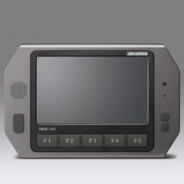 "Terminal industriel mobile pour véhicule, Paired with Trek-550 ( 7""CMO Digital Panel)"