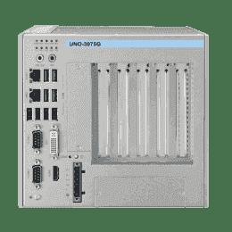 PC industriel fanless à processeur Celeron 847E,4G RAM, avec 1x PCIex16 + 4xPCI slots