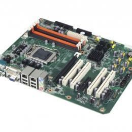 Carte mère industrielle, LGA1156 ATX IMB w/VGA/DVI/PCIe/2GbE/4 COM