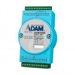 Module ADAM Ethernet OPC-UA / Modbus/TCP avec 8 relais, 14 entrées digitales et 6 sorties digitales