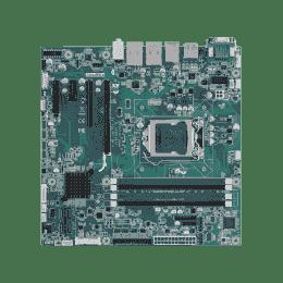 Carte mère industrielle, C2D LGA775 mATX FSB1066 VGA/ GbE/10COM w/o LVDS