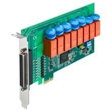 Carte PCIe d'acquisition isolée avec 8 relais et 8 entrées digitales