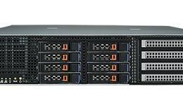 Serveur à grande capacité de calcul graphique, 2U Xeon HPC chassis w/1400W RPS w/MB/4 GbE/IPMI