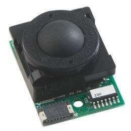 Trackball En bakélite 16mm de diamètre Trackball couleur noire Etanchéité: IP40