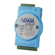 Module Entrée/Sortie sur Ethernet Modbus TCP, 8 Entrées Analogiques/Sorties numériques