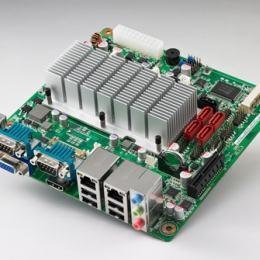 Carte mère Mini-ITX semi-industrielle, AMD T40R MINI-ITX,  VGA/LVDS/HDMI/4GbE/2COM