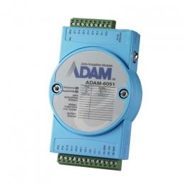 Module ADAM Entrée/Sortie sur Ethernet Modbus TCP, 16-Ch Isolated DI/O w/Counter Module