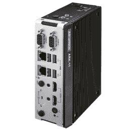 PC Fanless pour Intel Celeron N3350 DC avec HDMI 4k et fixations murales