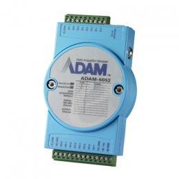 Module ADAM 6052 - Entrée/Sortie sur Ethernet Modbus TCP, 16-Ch Source Type DI/O Module