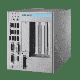 PC industriel fanless à processeur Celeron 847E,4G RAM,avec 1xPCIex16 et 2xPCI slots