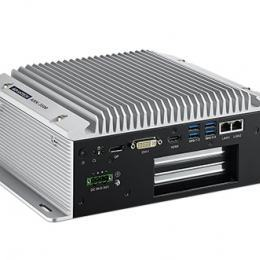 PC industriel fanless, Intel IVB, 2LAN+4USB3.0+2PCI slots
