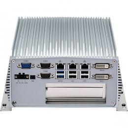 PC Fanless industriel Intel® Core™ i5/i3 4ème génération avec 2 slots PCI