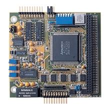Carte industrielle PC104, PC/104 16-ch 100kHz High-Gain Multifunction Card