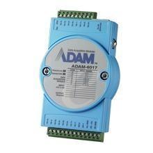 Module ADAM Entrée/Sortie sur Ethernet Modbus TCP, 8 Entrées Analogiques/Sorties numériques