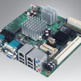 Carte mère industrielle, ATOM1.6G.MINI-ITX.FSB533,VGA,2LVDS,2LAN,TPM.RevB