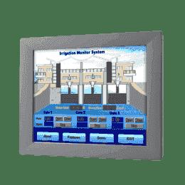 "Moniteur ou écran industriel tactile, 12"" SVGA Ind. Monitor w/Resistive TS (RS232&USB)"