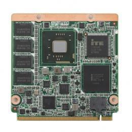 Carte industrielle QSEVEN pour informatique embarquée, Intel Cedar Trail N2600 1.6G Qseven Module