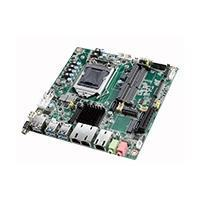 MB mini ITX socket LGA 1151 Intel core I7,I5,I3 2 RJ45